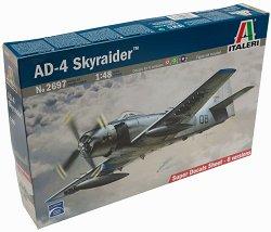 Военен самолет - AD-4 Skyraider - Сглобяем авиомодел - макет