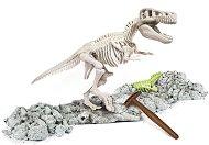 """Открий и реконструирай светещ Тиранозавър Рекс - Образователен комплект от серията """"Clementoni: Science"""" - играчка"""