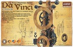 """Часовникът на Леонардо да Винчи - Сглобяем модел от серията """"Da Vinci Machines"""" -"""