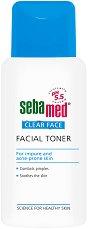 """Sebamed Clear Face Deep Cleansing Facial Toner - Хипоалергенен тоник за лице против акне от серията """"Clear Face"""" - лосион"""