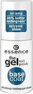"""Essence the Gel Nail Polish Base Coat - Основа за лак с гел ефект от серията """"Gel Nail Polish"""" - продукт"""