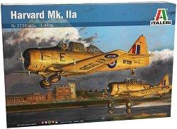 Тренировъчен самолет - Harvard Mk. IIa - Сглобяем авиомодел -