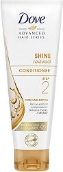 Dove Advanced Hair Series Shine Revived Conditioner Pure Care Dry Oil -