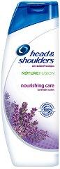 Head & Shoulders Nature Fusion Nourishing Care Shampoo - Подхранващ шампоан за коса против пърхот -