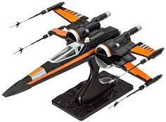 """Космическият изтребител на По Дамерон - Poe's X-Wing Fighter - Сглобяем модел от серията """"Revell: Star Wars"""" - макет"""