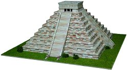 Kukulcan Temple - Сглобяем модел от тухлички - макет
