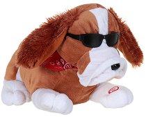 Куче - Танцуваща и пееща плюшена играчка -