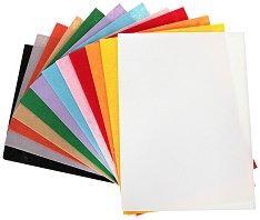 Филц - Комплект от 12 цвята - Формат A4