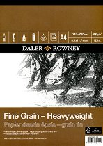 Скицник за рисуване - Fine Grain - Heavyweight - Формат A4
