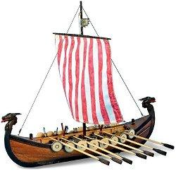 Дракар - Viking - Сглобяем модел на кораб от дърво - макет