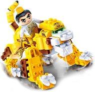 """Жълт дракон - Детски конструктор от серията """"Tang Dynastie"""" - количка"""