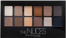Maybelline The Nudes Eyeshadow Palette - Палитра сенки за очи -