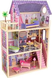 Къща за кукли - Кайла - Дървена детска играчка -