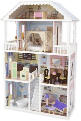 Къща за кукли - Савана - Дървена детска играчка -