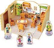 """Кухня - 3D пъзел от колекцията """"3D Къща"""" -"""