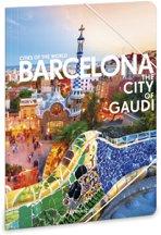 Папка с ластик - Барселона