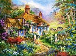 Къща в гората - пъзел