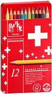 Цветни акварелни моливи - Swisscolor - Комплект от 12, 18, 30 или 40 цвята