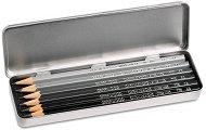Графитни моливи - Grafwood - Комплект от 6 броя -
