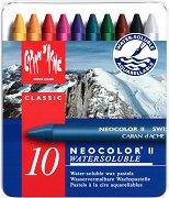 """Акварелни восъчни пастели - Neocolor II - Комплект от 10, 15, 30, 40 или 84 цвята от серията """"Classic"""""""