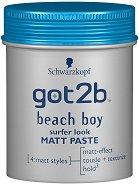 Got2b Beach Boy Surfer Look Matt Paste - Матираща паста за коса с плажен ефект - продукт