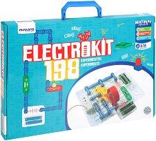 Конструктор - Electrokit 198 - Образователен комплект -