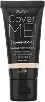 Aura Cover Me Foundation - SPF 20 - шампоан