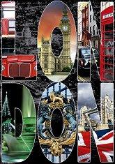 Колаж на Лондон - пъзел