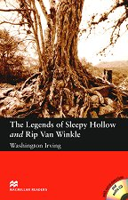 Macmillan Readers - Elementary: The Legends of Sleepy Hollow and Rip Van Winkle + extra exercises and 2 CDs -