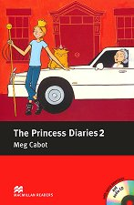 Macmillan Readers - Elementary: The Princess Diaries - book 2 + extra exercises and 2 CDs -