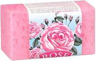 """Пилинг сапун-гъба с розова вода - От серията """"Rose"""" - шампоан"""