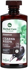 "Farmona Herbal Care Black Radish Shampoo - Заздравяващ шампоан с черна ряпа от серията ""Herbal Care"" -"