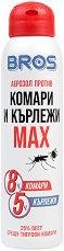 Аерозол против комари и кърлежи - Max -