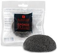 Erborian Konjac Sponge Charcoal - Конджак гъба за почистване на лице с пудра от бамбуков въглен - продукт