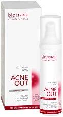 """Biotrade Acne Out Mattifying Tonic - Матиращ тоник за проблемна кожа от серията """"Acne Out"""" - сапун"""