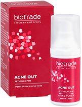 """Biotrade Acne Out Active Cream - Активен крем за проблемна кожа от серията """"Acne Out"""" -"""