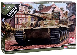 Немски танк - German Tiger I Mid : Invasion of Normandy 70th Anniversary - Сглобяем модел -