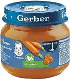 """Nestle Gerber - Пюре от моркови - Бурканче от 80 g от серията """"Моето първо"""" - пюре"""