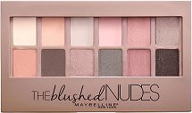 Maybelline The Blushed Nudes Eyeshadow Palette - Палитра сенки за очи -