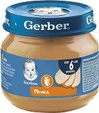 Nestle Gerber - Пюре от пуешко месо - Бурканче от 80 g за бебета над 6 месеца - пюре