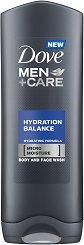 Dove Men+Care Hydration Balance Body & Face Wash - сапун