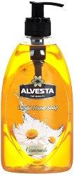 Alvesta Liquid Hand Soap Camomile - Течен сапун за ръце с аромат на лайка - сапун