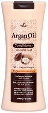 HerbOlive Argan Oil & Olive Oil Conditioner - Балсам за боядисана коса с масла от арган и маслина - шампоан