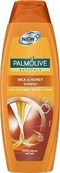 "Palmolive Naturals Milk & Honey Shampoo - Шампоан за суха коса с мед и мляко от серията ""Naturals"" -"