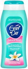 EveryDay Natural Fresh Intim Wash - Интимен гел с екстракти от лайка и алое вера за ежедневна употреба - спирала