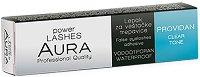 """Aura Power Lashes Adhesive Waterproof - Clear - Безцветно водоустойчиво лепило за изкуствени мигли от серията """"Power Lashes"""" - продукт"""