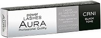 "Aura Power Lashes Adhesive Waterproof - Black - Черно водоустойчиво лепило за изкуствени мигли от серията ""Power Lashes"" - лосион"