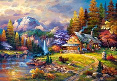 Къща в планината - пъзел