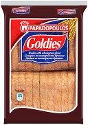 Сухари с пълнозърнесто брашно - Goldies - Опаковка от 160 g за бебета над 6 месеца - шише