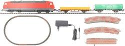 Товарен влак с електрически локомотив - Детски стартов комплект -